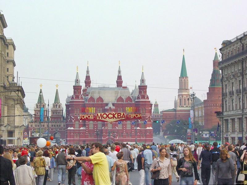 Сусанин / 160 человек пострадали во время празднования Дня города в Москве.